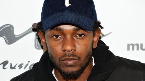NEW YORK, NY - NOVEMBER 03:  Hip-hop recording artist Kendrick Lamar visits Music Choice on November 3, 2014 in New York City.  (Photo by Slaven Vlasic/Getty Images)