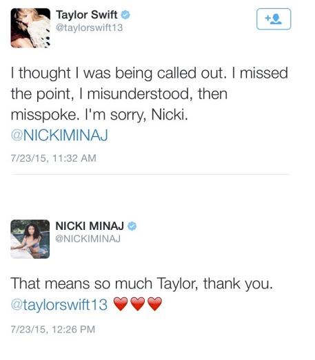 Nicki Taylor Tweet