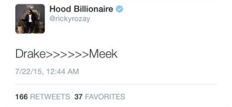 Rick Ross Tweet