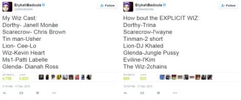 Erykah Badu Wiz Tweets