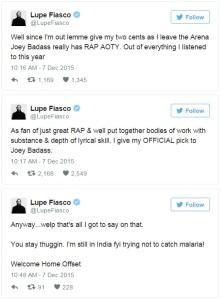 Lupe Tweet II