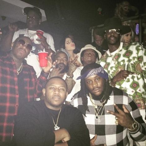 Lil Wayne, Birdman, Drake, Mack Mane NYE II