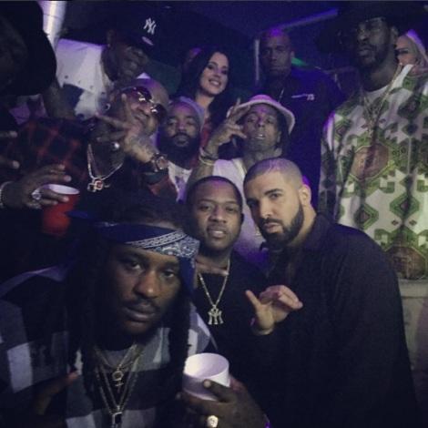 Lil Wayne, Birdman, Drake