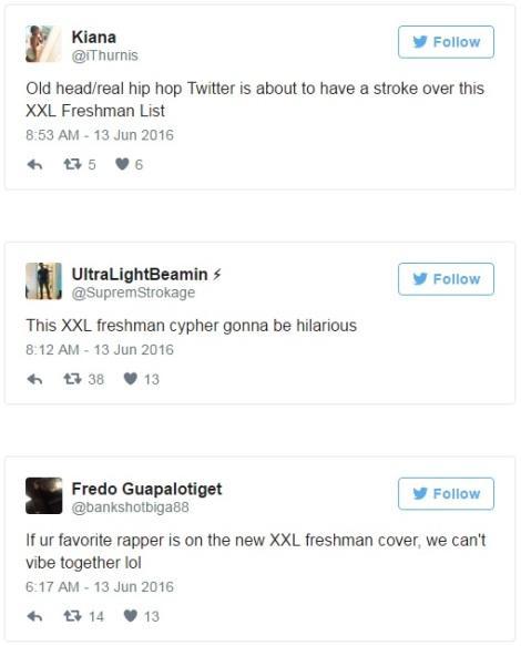 Twitter list I
